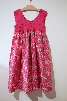 liberty fabric dress