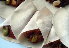 Vickys Chinese-Style Crispy Aromatic Duck Pancake Rolls Gluten Dairy Egg & Soy-Free Recipe -  Very Tasty Food. Let's make it!