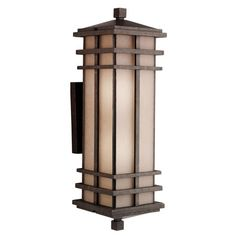 Kichler 9656AGZ Cross Creek Outdoor Wall Sconce