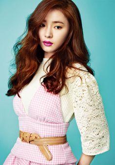 Allure Korea Model: Shin Se Kyung November 2013