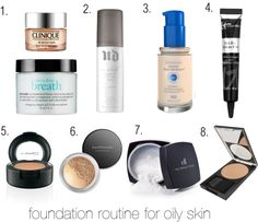 I'm a girl with oily skin who has been on the hunt for the best products to complete my foundation routine for oily skin and I think I've finally found 'em!