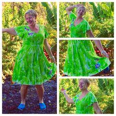 Hawaiian Dress  Plus Size Hawaiian  Empire Waist by #hawaii #fashion #integritytt PetrinaBlakely