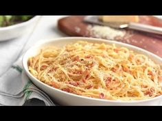 Find details of the recipe here: http://stage.knorr.co.uk/Recipes/Pasta-Recipe/Spaghetti-Carbonara.aspx    For more pasta recipes from Knorr and Marco Pierre White go to: http://www.knorr.co.uk/Recipes/Pasta-Recipe.aspx    I build up my version of this classic dish by adding in the ingredients in stages. First, dissolve Knorr Stock Pots to the pasta...