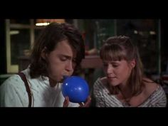 Benny and Joon - Balloon Benny And Joon, Mary Stuart Masterson, Joey Friends, Blue Balloons, Romantic Movies, Movie Characters, Johnny Depp, In A Heartbeat, Good Movies