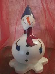 Image result for alabama gourd snowman