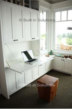 Home Study Furniture | Home Office Furniture | Fitted Office Furniture drop down desk