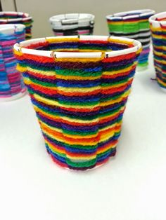 I have been SO excited to blog about my new and improved cup weaving lesson! So…
