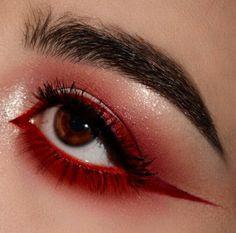 Gorgeous Makeup: Tips and Tricks With Eye Makeup and Eyeshadow – Makeup Design Ideas Makeup Goals, Makeup Inspo, Makeup Art, Beauty Makeup, Hair Beauty, Makeup Style, Makeup Ideas, Red Aesthetic, Aesthetic Makeup
