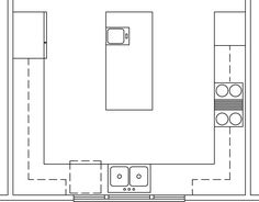Kitchen Design Layout U Shaped tips for u-shape kitchen layouts | banquettes, counter space and