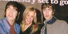Liam Gallagher, Nicole Appleton and Richard Ashcroft