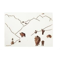 Coral and Tusk - wyoming stationery