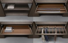 Cover Wardrobe from Pure Interiors | Custom made internal storage solutions.