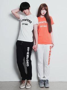 Park Ji Ho and Ryu Hye Ju.