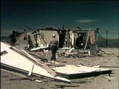 Tomorrow Will Bring Bulldozers. Video of nuclear tests on houses and dummies at the Nevada Test Site.