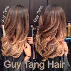 Guy tang long hair curls gorgeous