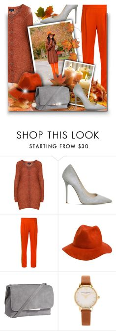 """Autumn is coming! - Contest!"" by asia-12 ❤ liked on Polyvore featuring Zhenzi, Office, Each X Other, Rhythm., Jigsaw, Olivia Burton and Effy Jewelry"