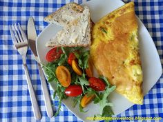 Moje                                                                       Kuchenne Rewelacje  : Francuski omlet z szynką i serem