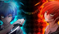 Assassination Classroom - Nagisa and Karma by Cloverloy.  My two favorite characters