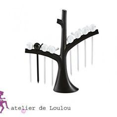 arbre apéritif oiseaux - KOZIOL - sans bisphénol A -