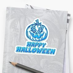 Happy Halloween Sticker by Naumovski    More artworks on    https://linktr.ee/naumovski.dusan  https://www.redbubble.com/people/naumovski  https://society6.com/naumovski    #gift #displate #birthday #naumovski #iphone #phone #cases #shops #tshirts #geek #tech #poster #stickers #redbubble     #teepublic #society6 #diy #homedecor #decor #accessories #watercolor #pattern #pillow #mugs #abstract #art     #redbubblestickers #mug #products #clothes #holiday #tapestry #halloween #pumpkin