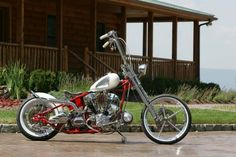 Paul Teutul Sr. of Orange County Choppers with Rick and Vinny's help  built an S Knucklehead engine bobber with styling cues from his 1960 Corvette.