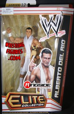 His name is Alberto Del Rio! His accomplishments include: Multiple-Time WWE Champion, Holder of the Money In The Bank Briefcase, Royal Rumble Winner & WrestleMania Main-Eventer! Alberto Del Rio Wwe, Figuras Wwe, Sting Wcw, Wwf Superstars, Wwe Game, Wwe Toys, Wwe Action Figures, Stone Cold Steve, Wwe Elite