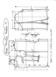 Esquema de modelagem de Blazer ou Paletó masculino tamanho You are in the right place about long Blazer Outfit Here we offer you the most beautiful pictures about the red Blazer Outfit you are loo T Shirt Sewing Pattern, Blazer Pattern, Dress Sewing Patterns, Jacket Pattern, Clothing Patterns, Collar Pattern, Bodice Pattern, Sleeve Pattern, Sew Pattern
