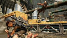Gears of War 4 Multiplayer Beta: 'Dam' Map Full Round 1080p/60fps See a full round of Team Deathmatch on Gears of War 4's 'Dam' map. April 14 2016 at 02:00PM  https://www.youtube.com/user/ScottDogGaming