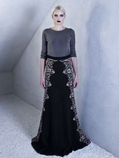 Maxi Skirt with Lace Detail | Jovana Markovic | NOT JUST A LABEL