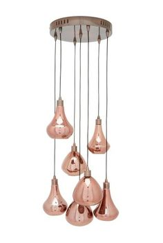 copper lighting pendants. Unique Lighting Weu0027re Having Copper Cravings How Could You Resist This Gorgeous Malmo 7  Light Ceiling Pendant Next On Copper Lighting Pendants