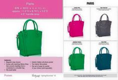 Just for You!! (Because let's face it.. We are always doing for everyone else.. & well you deserve something for YOU!!) This is the Paris.. From Jewell by Thirty-One.. It's fun & flirty and will look amazing with any outfit!! (You can even get it for half off when you host a party in January, even an online or catalog party!)