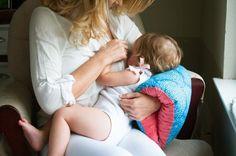 I love the flower pattern! Nursie Breastfeeding Arm Pillow