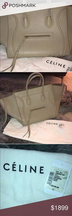 Celine Phantom Luggage Gently used  Beige Celine Phantom Luggage. This bag is an all season color that is super popular !! Celine Bags Totes