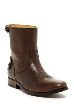 Melissa Button Zip Short Boot by Frye on @nordstrom_rack