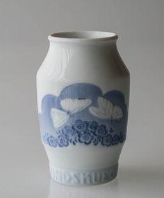 Vase Rundskuevase 1920 Royal Copenhagen | Year 1920 | No. rvr1920 | DPH Trading
