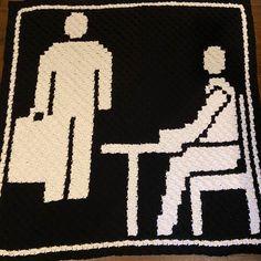 C2c Crochet Blanket, Crochet Chart, Knit Or Crochet, Crochet Blanket Patterns, Crochet Hooks, Crochet Style, Corner To Corner Crochet, Craft Corner, Star Wars Crochet