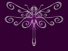 purple dragonfly | Dragonfly in Purple | Under the Elm