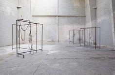 """<h5></h5>Installation view: """"DROP HANDKERCHIEF BACKDROP"""", 1857, Oslo, 2011"""