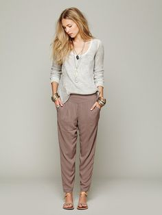 Free People Easy Pleat Pant at Free People Clothing Boutique