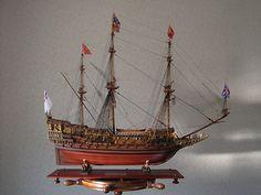 ソブリン オブ ザ シーズ(Sovereign of the Seas) 帆船模型