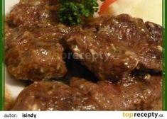Czech Recipes, No Salt Recipes, Stew, Pork, Meat, Chicken, Cooking, Anna, Fine Dining