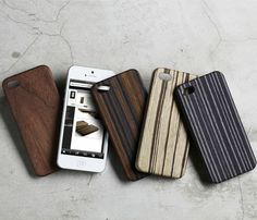 Wood iPhone cases. They slide out of your pocket easily, aren't bulky, and just look fresh. Love it!
