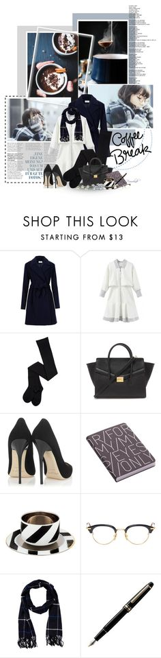 """""""Looking for Something Warm"""" by frouwelinde ❤ liked on Polyvore featuring Forever 21, Jimmy Choo, Nuuna, Christian Lacroix, Thom Browne, Amicale, Montblanc, women's clothing, women's fashion and women"""