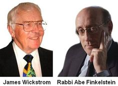 James Wickstrom | Zionist Rabbi Abe Finkelstein -- claims Jews murder 100,000 - 300,000 goy children a year, consume their blood, grind bodies into MacD hamburger... plus illuminati non-education of goyim... etc