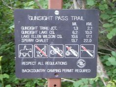 national park sign - Google Search