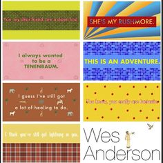 """101 Likes, 13 Comments - Wes Anderson Films!! (@wesandersonfilms) on Instagram: """"What's your favorite #wesanderson quote? #bottlerocket #rushmore #theroyaltenenbaums…"""""""