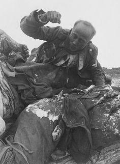 Frozen German dead at Stalingrad (Winter 1943)