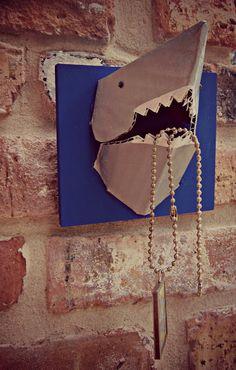 3-D shark jewelry holder   Morena's Corner #shark #jewelry