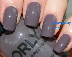 Orly Smoky Collection for Fall. Blend is a muted purple.