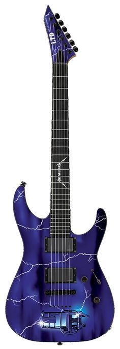 "ESP LTD METALLICA ""RIDE THE LIGHTNING"" GRAPHIC SERIES GUITAR"